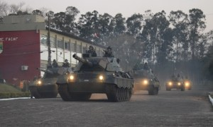 Brazilian Army Leopard 1A5BR Main Battle Tanks