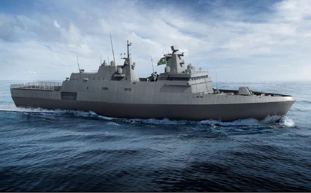 Brazilian Navy's Tamandaré Frigates