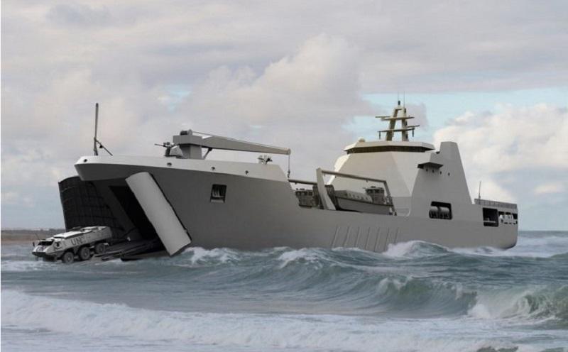 Damen Shipyards Sharjah Landing Ship Tank 100 (LST 100)