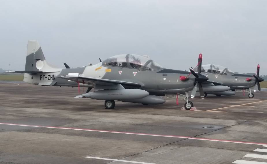 Embraer Delivers A29B Super Tucano Light Attack Aircrafts to Turkmenistan