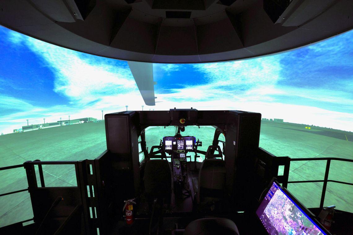 Reality H® Full Flight Simulator