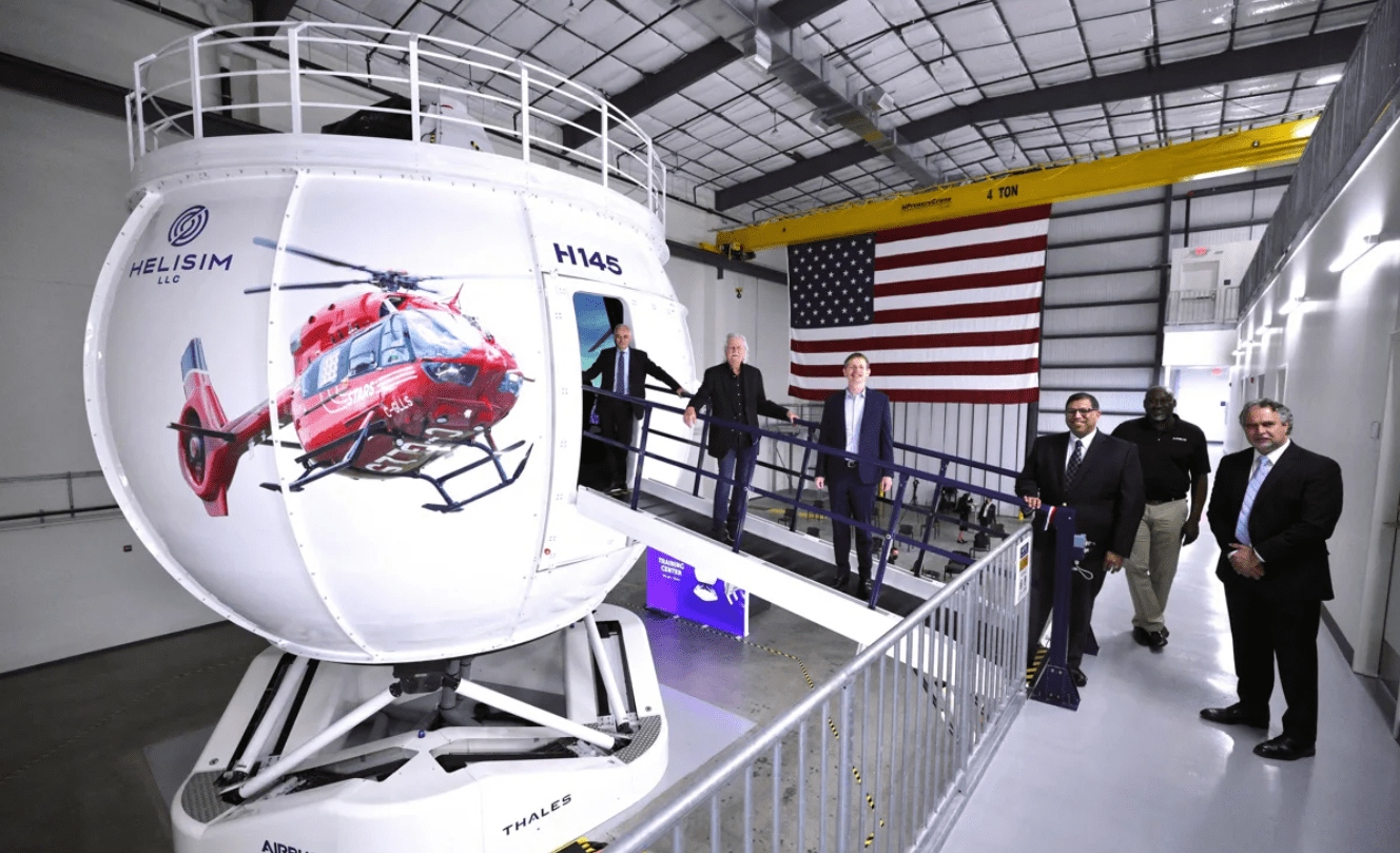 First Thales Reality H Full Flight Simulator in the US Achieves FAA Certification