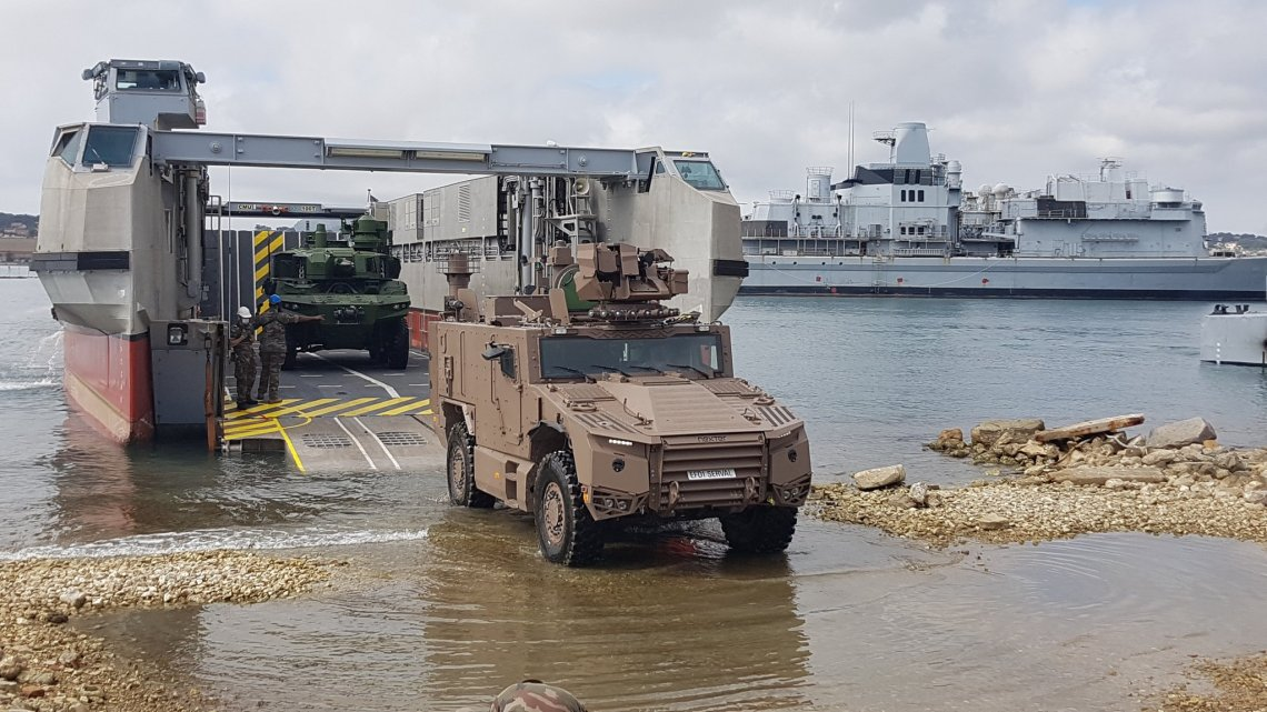 French Army Serval 4x4 Armored Vehicle