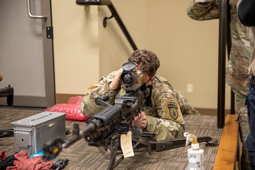 US Army Evaluation Family of Weapons Sight – Crew Served (FWS-CS) Machine Gun Optic