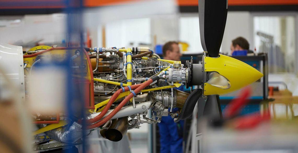 Grob G120TP powered version with a Rolls Royce 250-B17F aircraft turbine engine