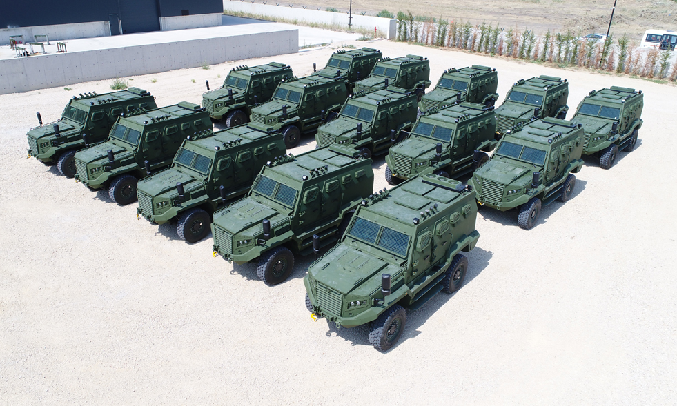 Hizir High-performance Armored Personnel Carrier (APC)