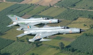 Indian Air Force MiG-21 Bison Supersonic Jet Fighter