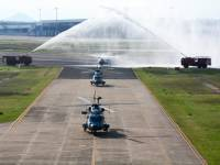 Indian Navy Inducts 3 Indigenously-built Advanced Light Helicopters ALH MK III