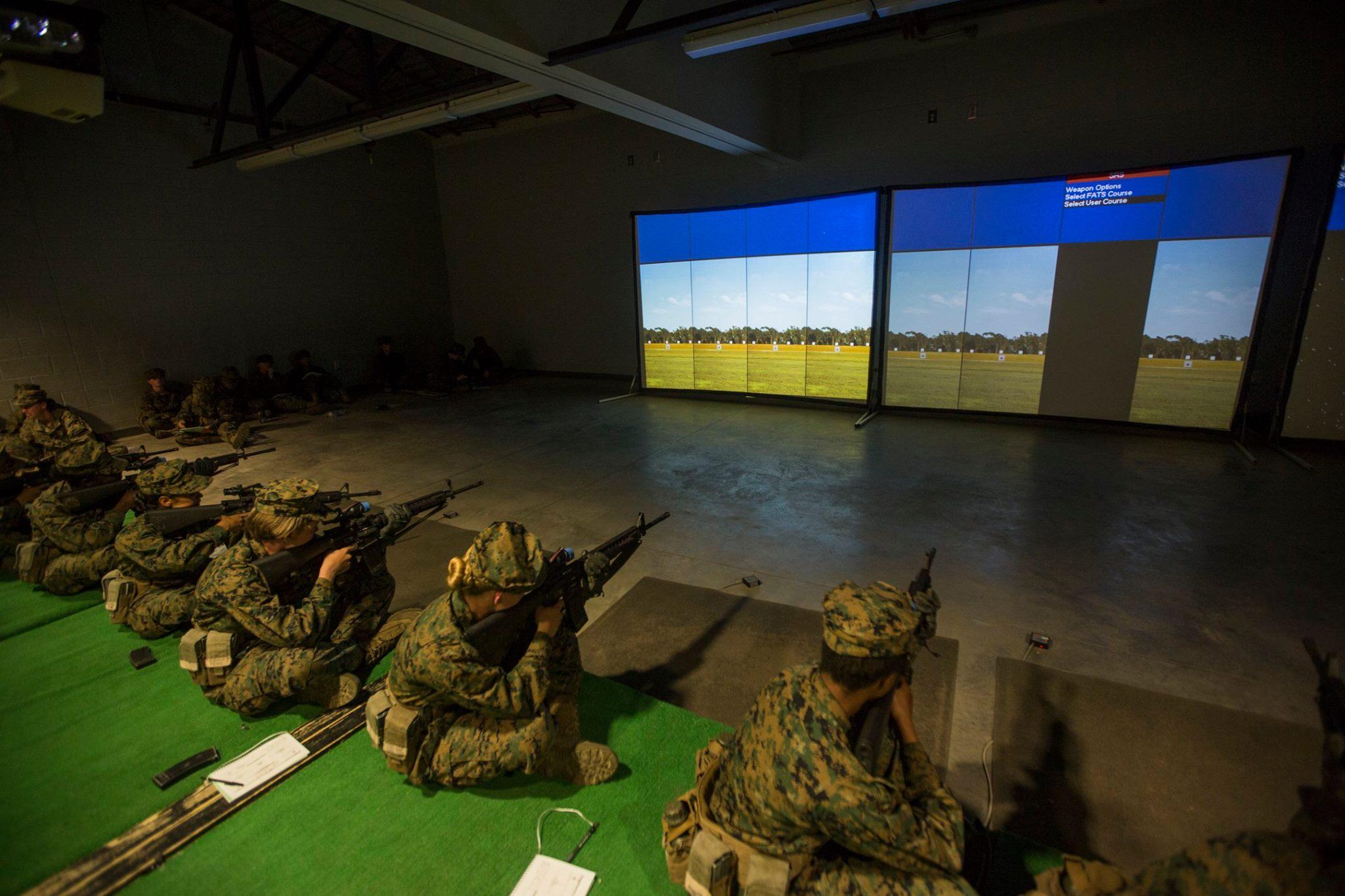 U.S. Marine Corps Indoor Simulated Marksmanship Trainer (ISMT)