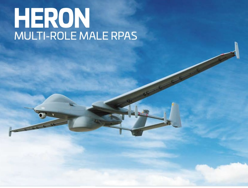 Israel Aerospace Industries $200 Million Heron UAV Services Contract with Asian Country