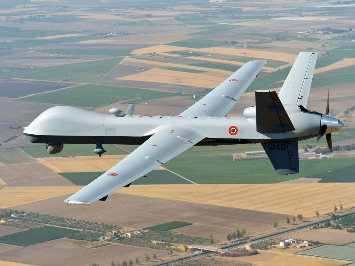 Italian Air Force MQ-9 Remotely Piloted Aircraft