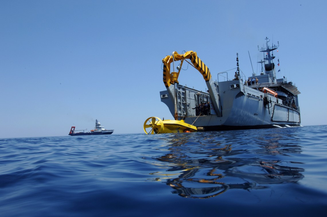 Italian Navy Anteo (A 5309) submarine rescue ship