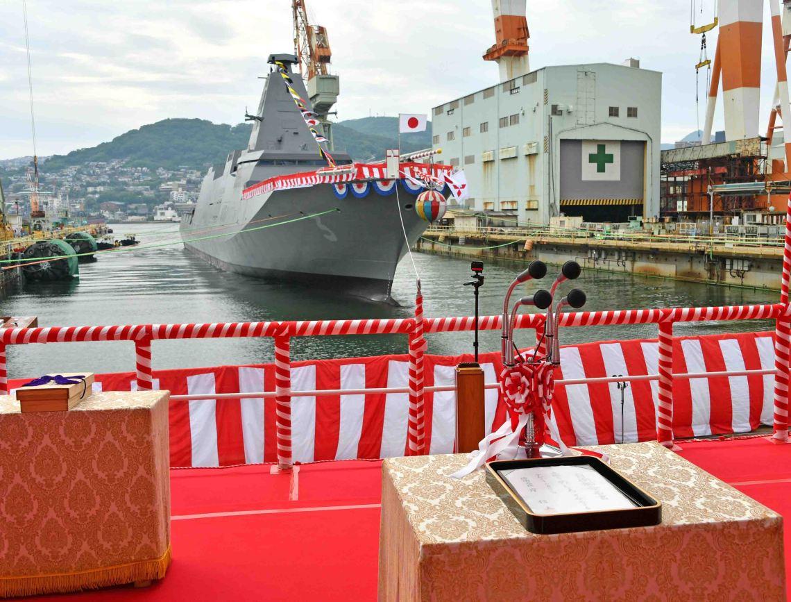 Japan Maritime Self-Defense Force to Christen Mogami-class Frigate JS Noshiro (FFM-3)