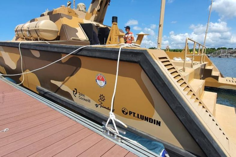 John Cockerill's Combat Boat Successfully Completes Its First Open Sea Shooting