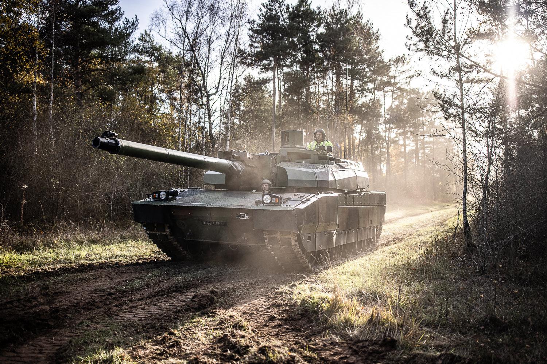 French Army Leclerc Main Battle Tank