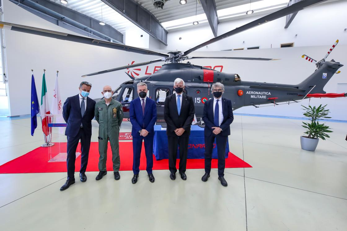 Leonardo Delivers HH-139B Search and Rescue Helicopter to Italian Air Force