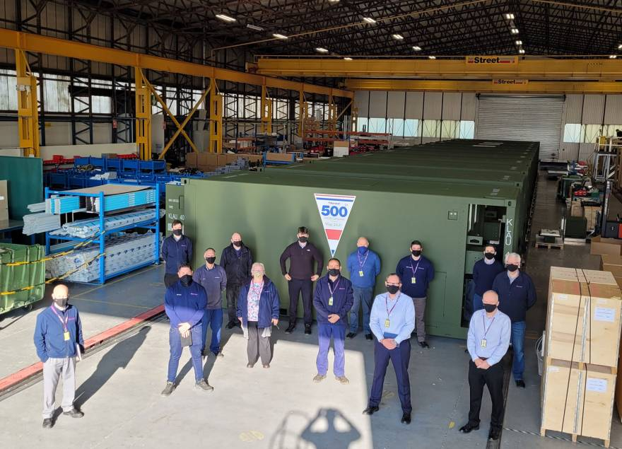 Marshall Aerospace and Defence Group Delivers 500th Container System to Netherlands Armed Forces