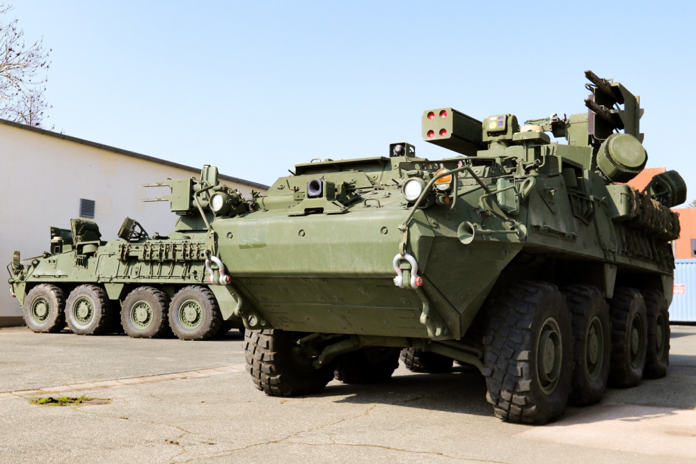 Mobile Short Range Air Defense (M-SHORAD) system.