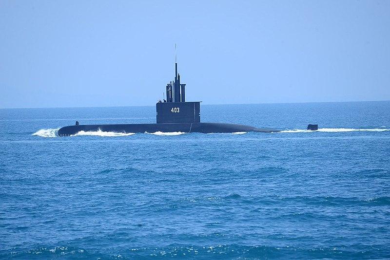 Indonesian Navy Nagapasa-class submarine