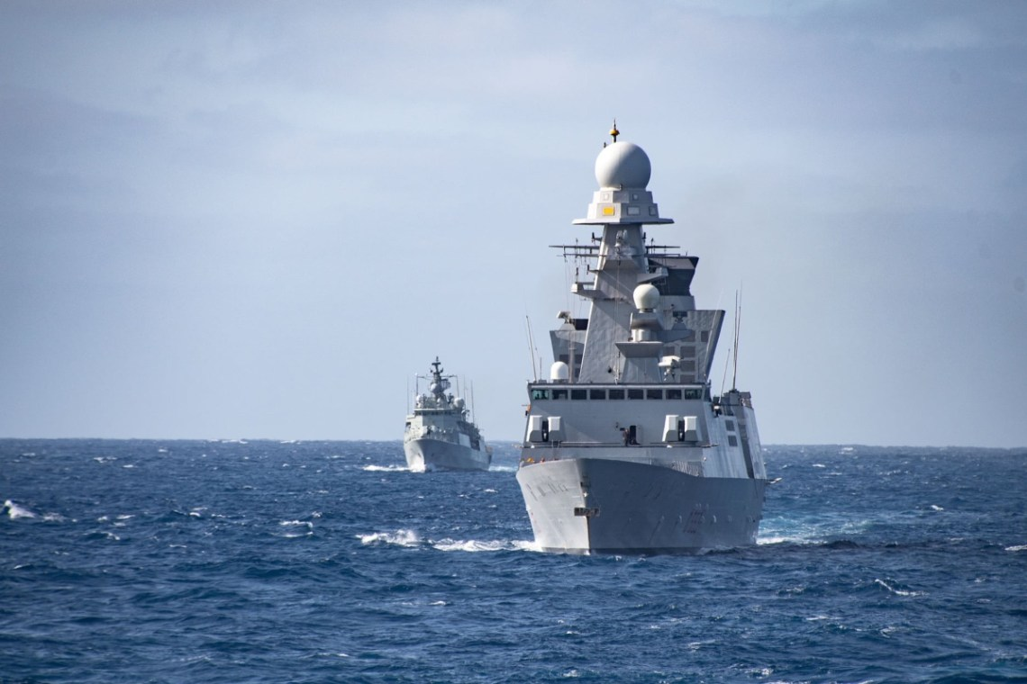 NATO Allies and Partners Warships Ready for Exercise SEA BREEZE 21