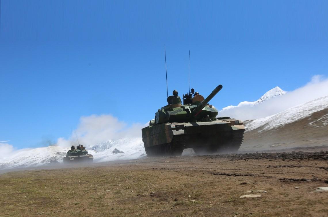 Norinco Type 15 Light Tank Enters Chinese PLAN Marine Corps Service