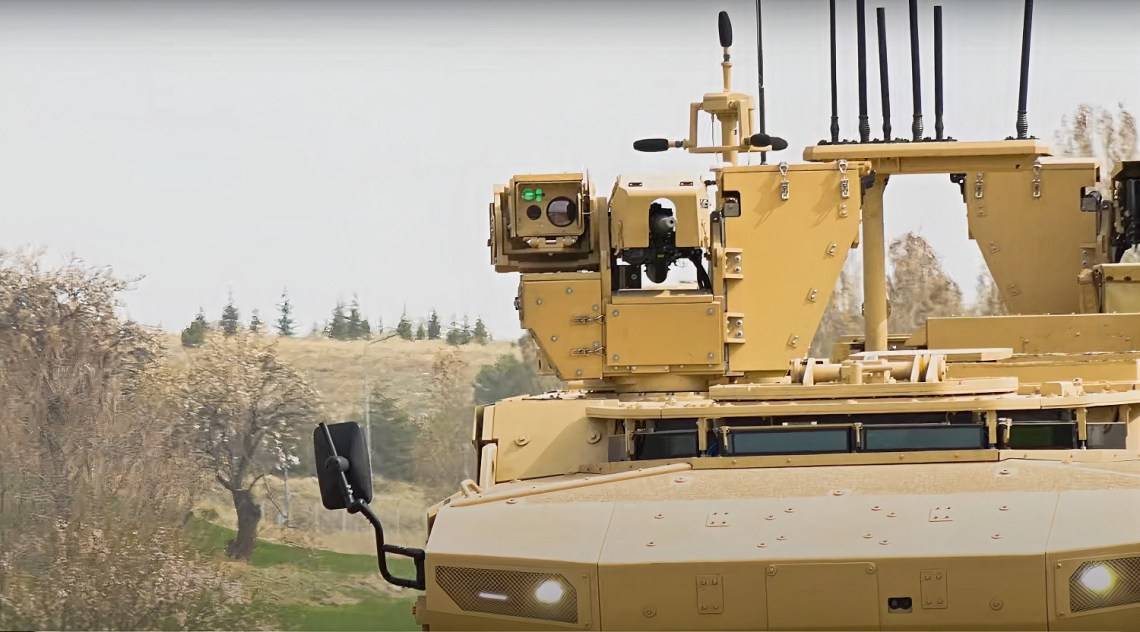 Pars 6x6 MKKA Mine Resistant Ambush Protected Vehicle
