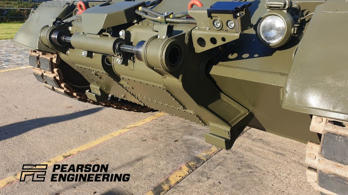 SLICE enables Main Battle Tanks and other armoured vehicles to rapidly fit.