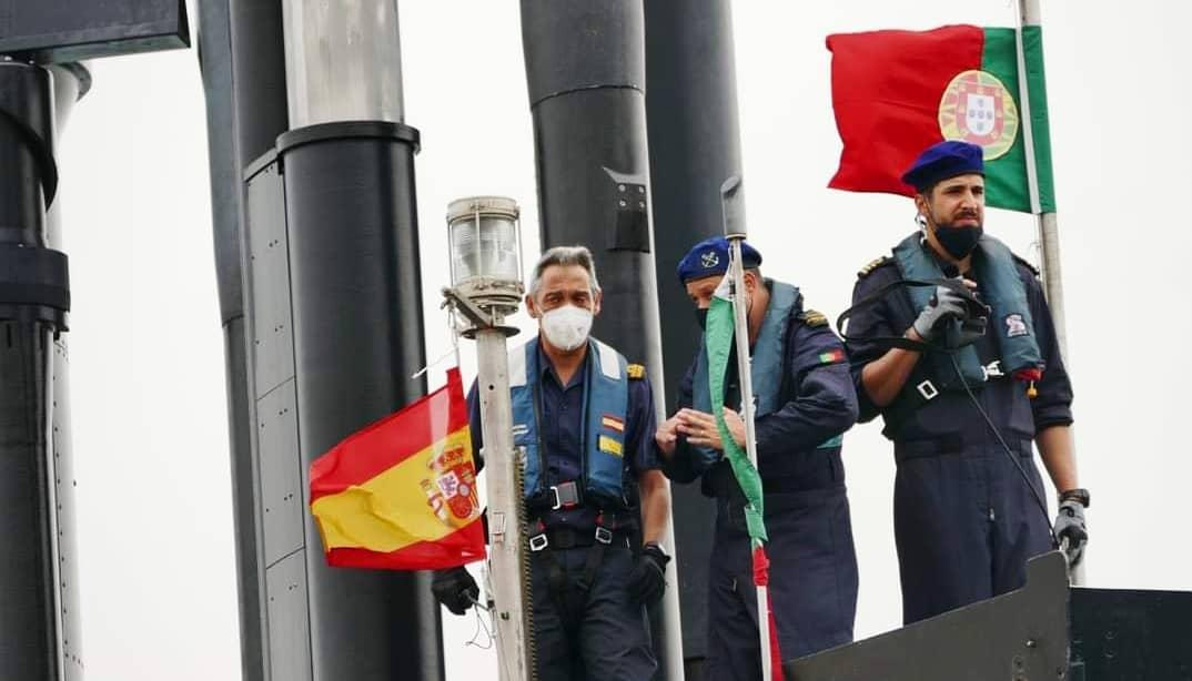 Portuguese Navy NRP Tridente Submarine Joins NATO SEA Guardian and EU IRINI Mission