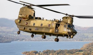 Royal Air Force Boeing CH-47 Chinook Transport Helicopter
