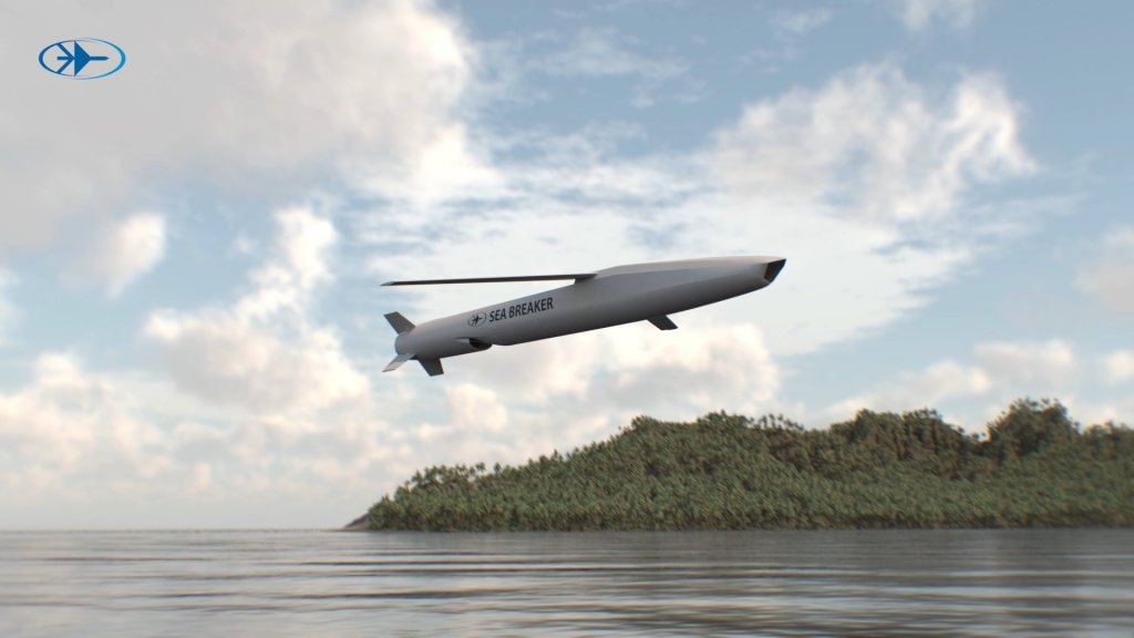 Rafael Advanced Defense Systems Unveils Sea Breaker Long Range Precision-guided Missile System