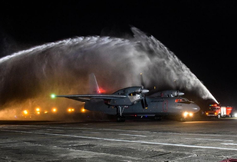 Sri Lanka Air Force Antonov AN-32 Transport Aircrafts Return Home Following Repairs