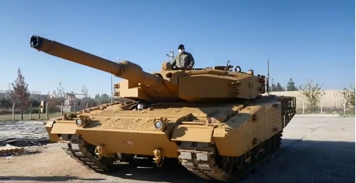 Turkey Unveils New Leopard 2A4 Upgrade Fitted Indigenous Armor Package
