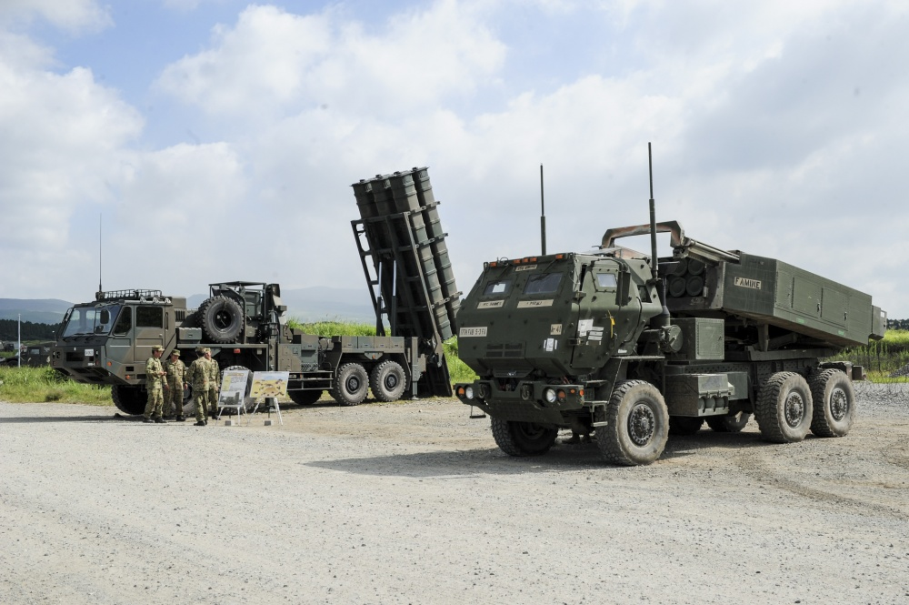 Type 12 Surface-to-Ship Missile and High Mobility Artillery Rocket System