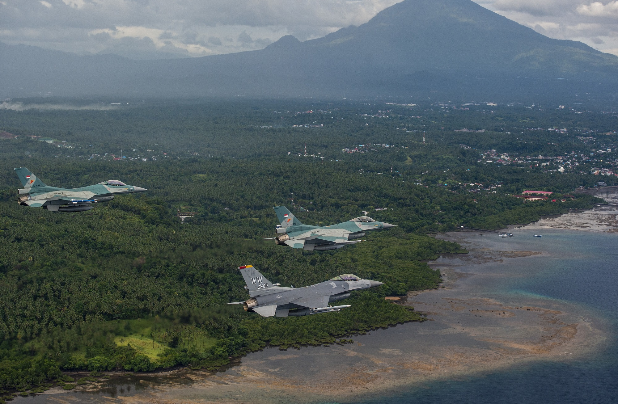 US Air Forces F-16s to Participate in Exercise Cope West 2021 in Indonesia