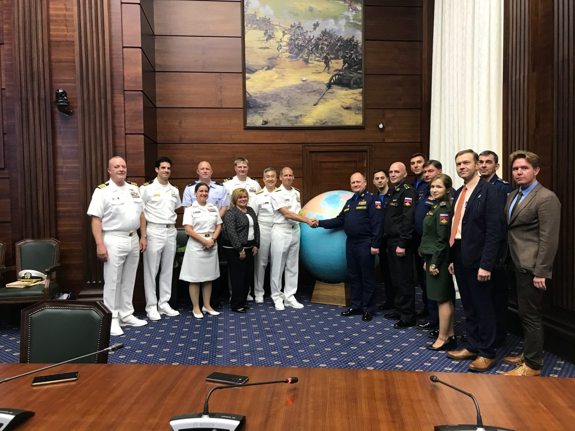 US and Russian Navies Hold Annual INCSEA Consultations in Moscow