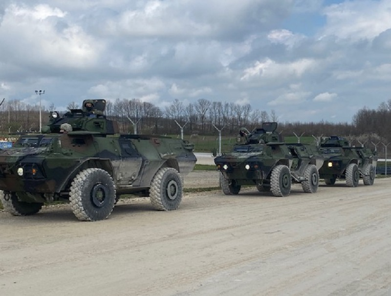 US Army provided driver's training and mechanics familiarization on the M1117 Armored Security Vehicle.