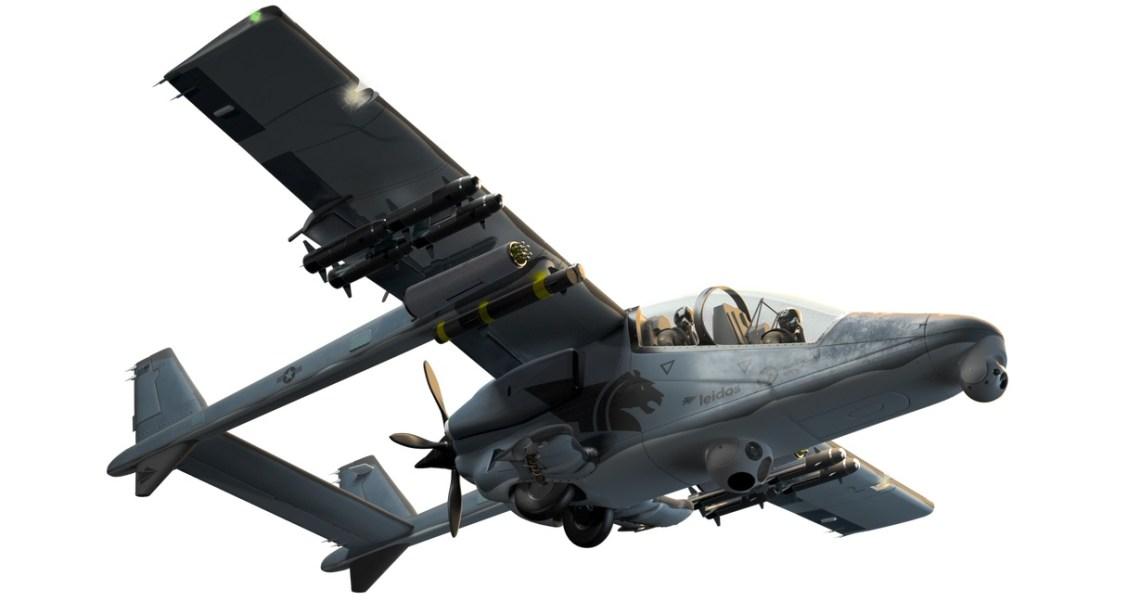 Leidos Bronco II Light Attack Aircraft