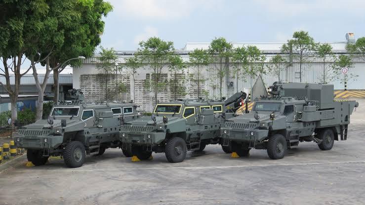 BELREX Protected Combat Service Vehicle (PCSV).