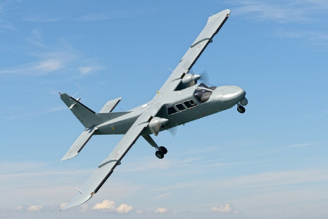Britten-Norman Defender 4000 Utility Aircraft