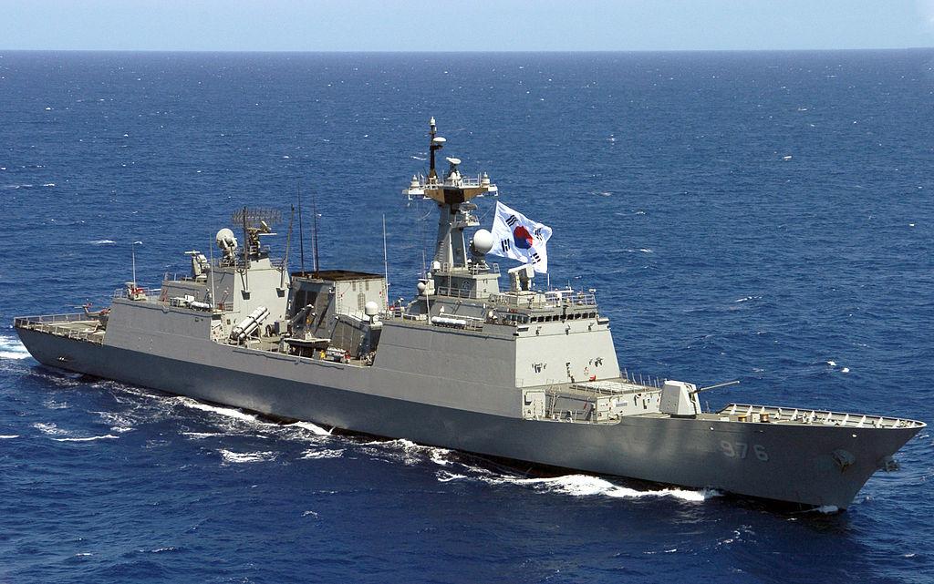 Republic of Korea Navy ROKS Munmu the Great (DDH-976)