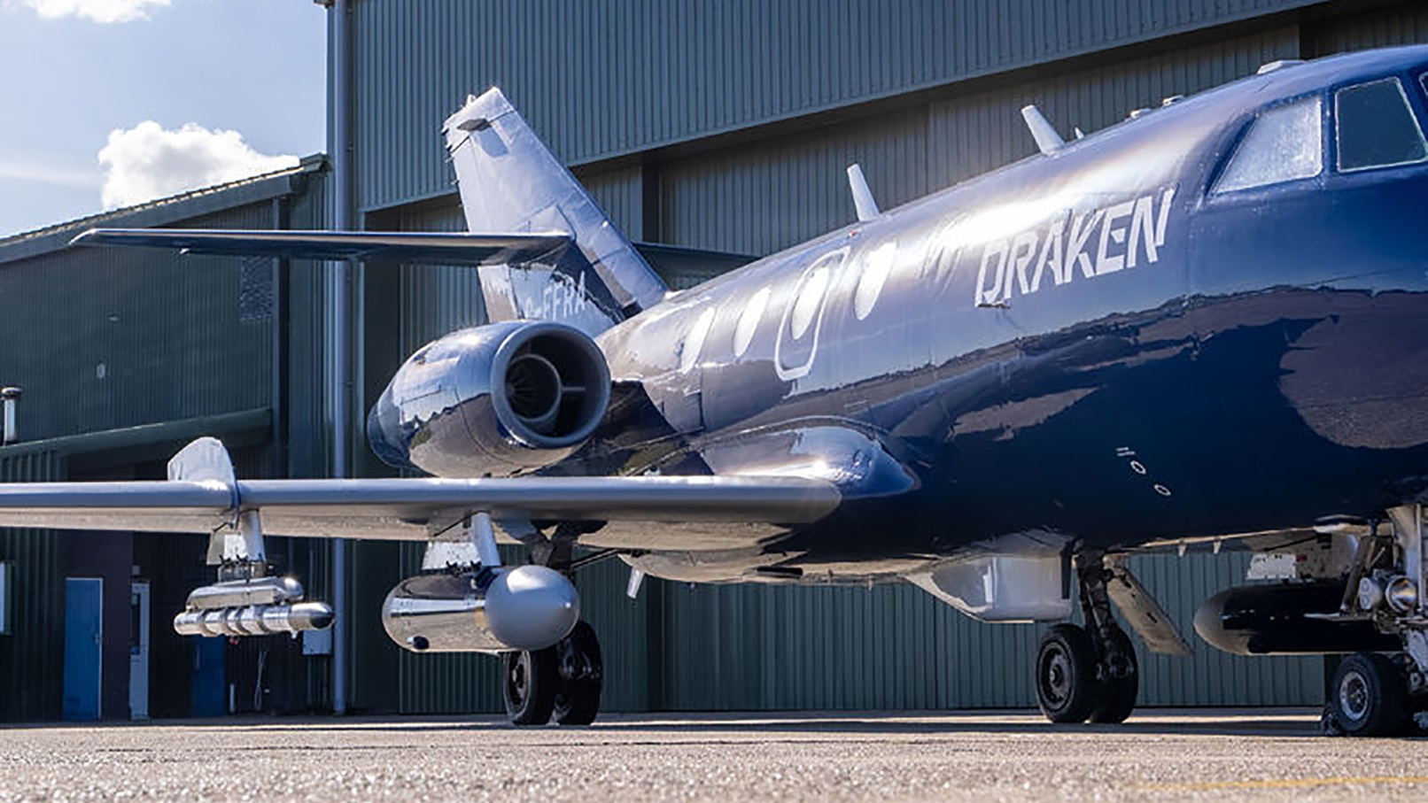 Draken Europe and Collins Aerospace Collaborate on UK Joint Secure Air Combat Training System