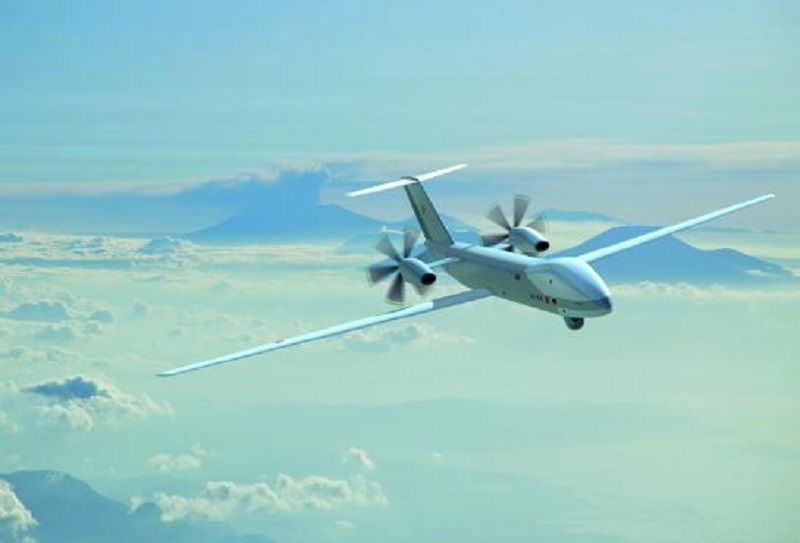 Eurodrone Medium Altitude Long Endurance Remotely Piloted Aircraft System (MALE RPAS) )