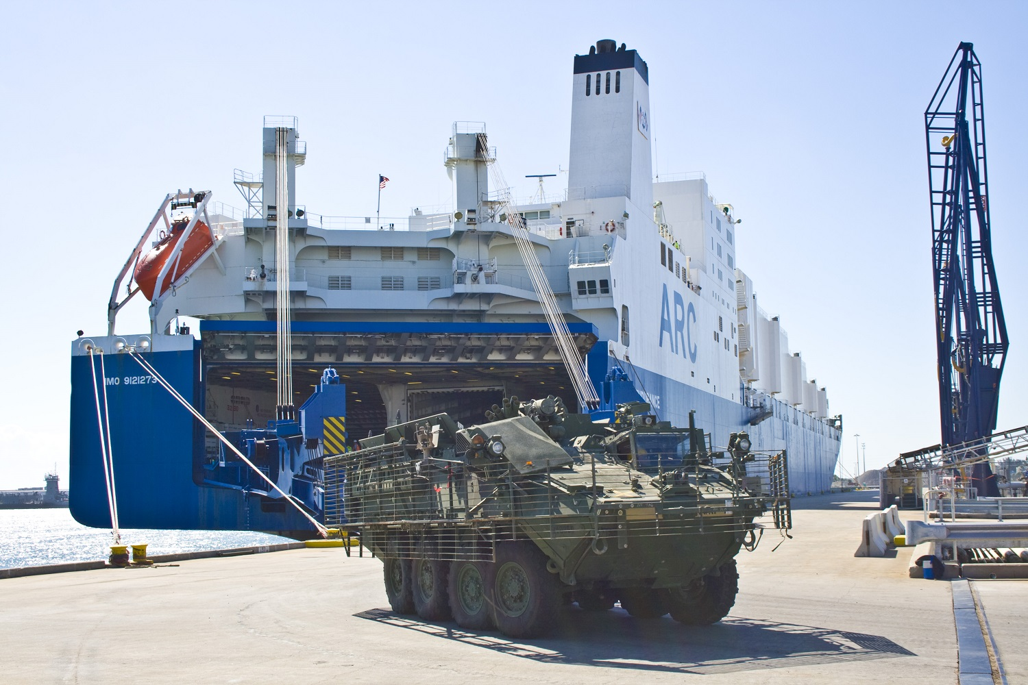 American Roll-On Roll-Off Carrier Awarded Contract Carriers Offering Regularly Scheduled Commercial Service