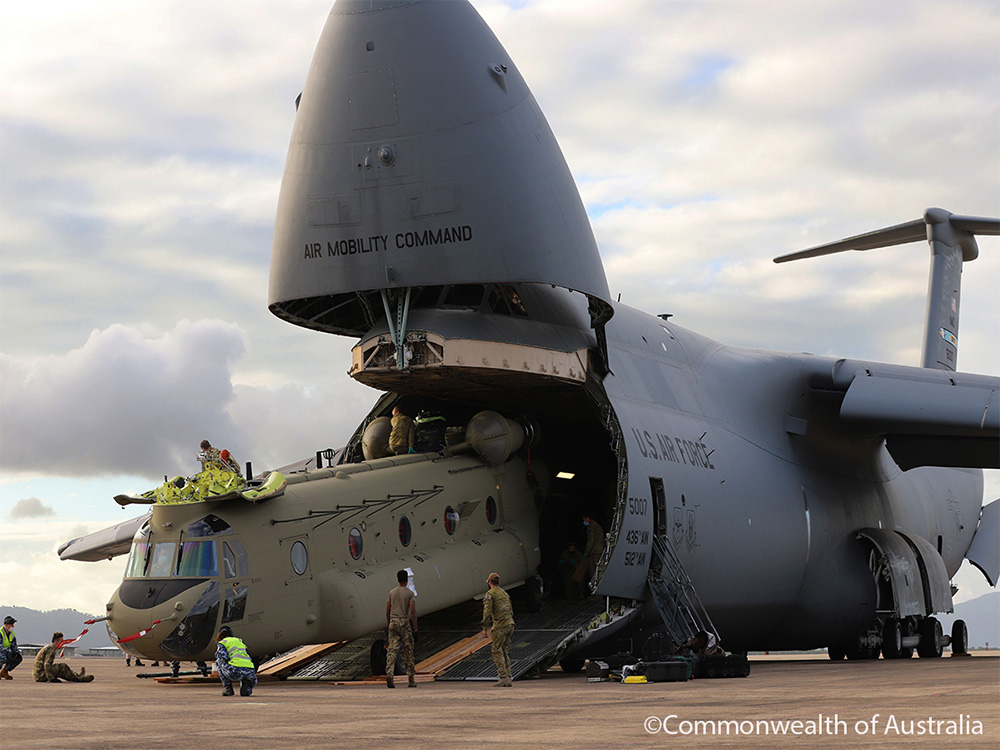 Australia's Department of Defence Acquires Two Additional Boeing CH-47F Chinook Aircraft