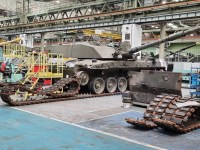 British Army Challenger 2 Main Battle Tanks Prepared for Upgrade