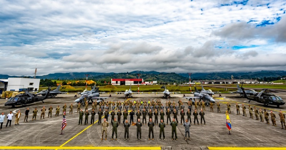 Colombian and US Air Forces Hold Joint Exercise Relampago VI in Rionegro, Colombia