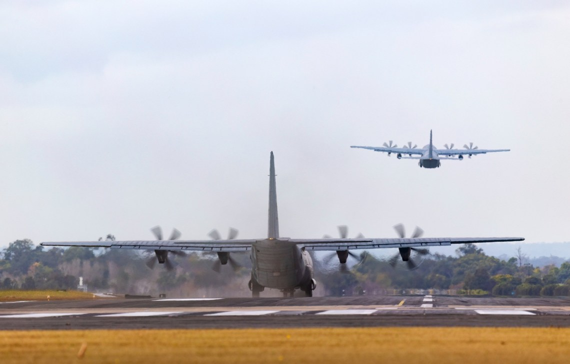Exercise Teak Action Strengthens Aerial Ties Royal Australian Air Force and United States Air Force