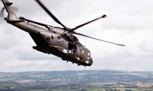 Final Tor of Duty as Royal Navy Commando Merlins Enter Home Straight of Ten-year Revamp