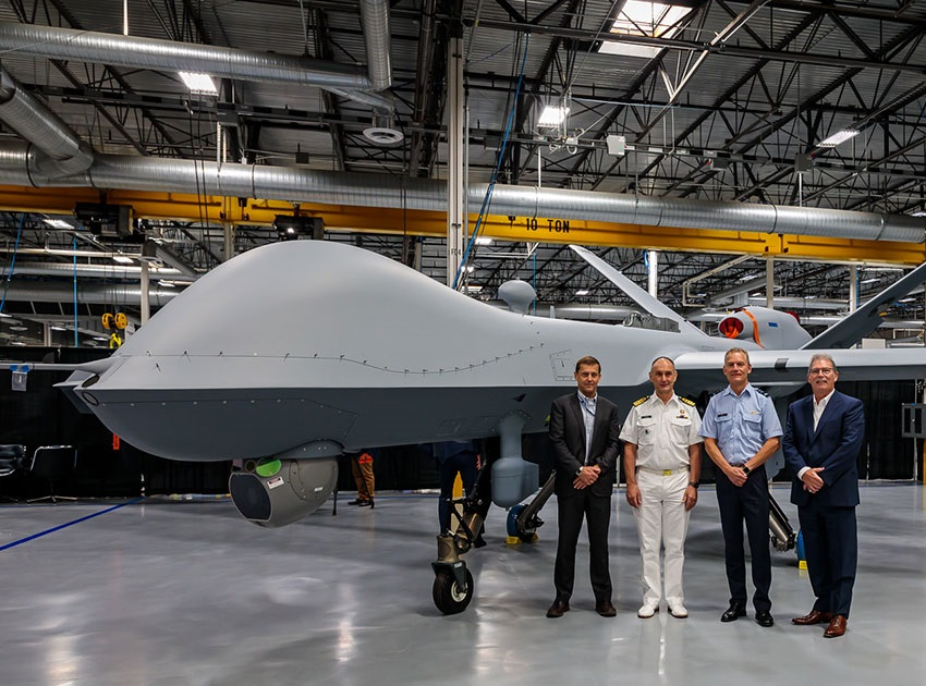 General Atomics Aeronautical Systems Inc Completes First MQ-9A Block 5 for Royal Netherlands Air Force