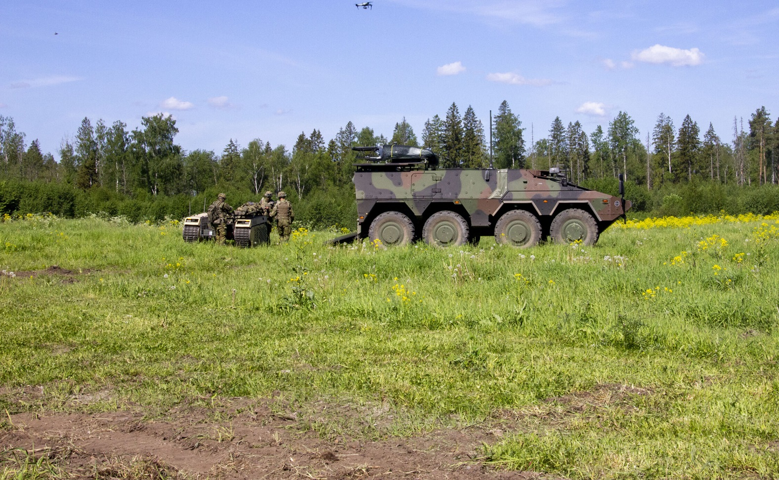 iMUGS Consortium Demonstrated Manned-Unmanned Teaming Capabilities